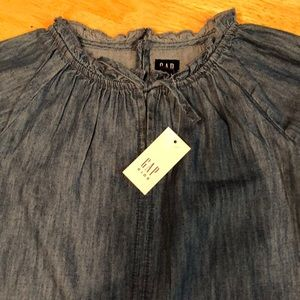 GAP Kids denim dress Small NWT